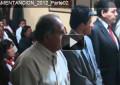 Juramentación de alcaldes y miembros de Seguridad Ciudadana 2012