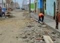 Construyen nuevas veredas en Buenos Aires Centro