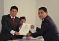 JEET acredita a Alcalde  y regidores de V. Larco