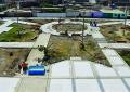 Avanzan en 70% construcción de Plaza Santa Rosa