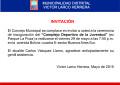 """Inauguración del """"Complejo Deportivo de la Juventud"""""""