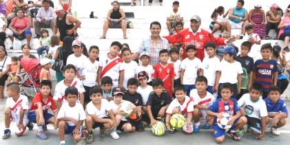 Cientos de niños se beneficiaron con talleres gratuitos en Víctor Larco