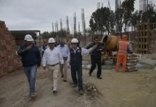 Avanza construcción del colegio más moderno del país