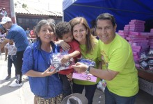 Cinco mil niños reciben juguetes en Víctor Larco