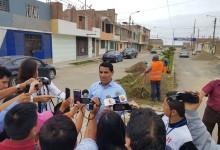 Inician rehabilitación de calles por donde ingresará Papa Francisco