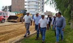 Inician rehabilitación de avenida Juan Pablo II por gestión municipal