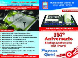 197° Aniversario Independencia del Perú