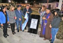 Inauguran modernas losas deportivas en Buenos Aires Centro