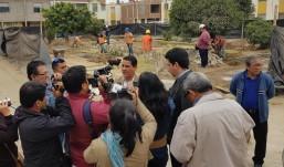 Inician mejoramiento de parque Villa Florencia en Víctor Larco
