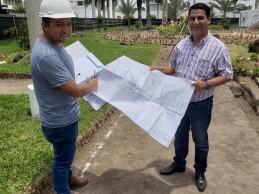 Inician remodelación de parque Guillermo Ganoza en El Golf