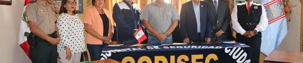 """César Juárez: """"Víctor Larco seguirá siendo el distrito más seguro"""""""