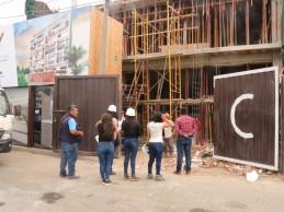 Víctor Larco: Inspeccionan licencias y medidas de seguridad en edificaciones
