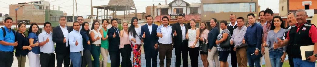 Alcalde César Juárez presentó funcionarios en primera sesión del año