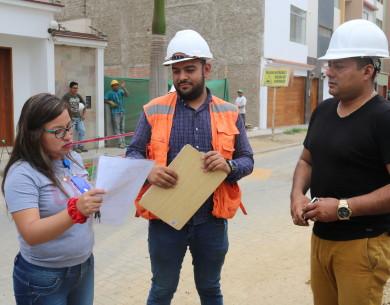 Continúan inspecciones a obras de construcción en Víctor Larco