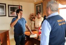 Juramenta Plataforma y Grupo de Gestión de Riesgos de Víctor Larco